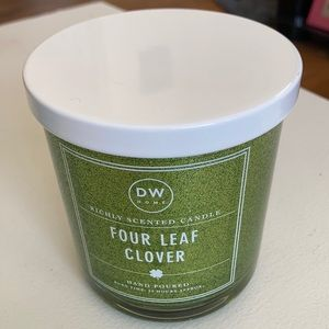 DW Home Hand Poured Candle Four Leaf Clover